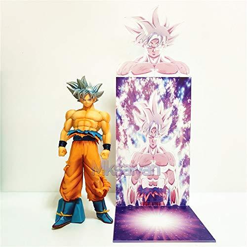 Goku Figura Modelo Dragon Ball Z Goku Ultra Instinct Figura De Acción Dragon Ball Super Son Goku Figurita Juguetes con Base Acrílica