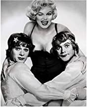 Marilyn Monroe Some Like it Hot Winking with Tony Curtis and Jack Lemmon 8 x 10 Inch Photo