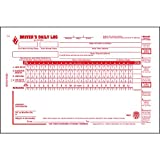 Driver Daily Log Book 5-pk. with Simplified Driver Vehicle Inspection Report & Daily Recap - Book Format, 2-Ply with Carbon, 8.5' x 5.5', 31 Sets of Forms Per Book - J. J. Keller & Associates