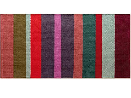 Remember Teppichläufer Malve kurz 140 cm 100% Baumwolle