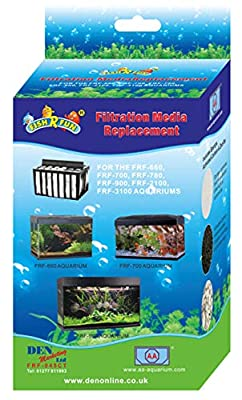 Fish R Fun FRF-045CT Aquarium Replacement Filter Cartridge Media