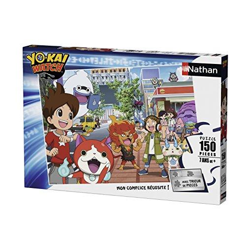 Nathan–86822–Puzzle búsqueda yo-Kai Watch 150Piezas
