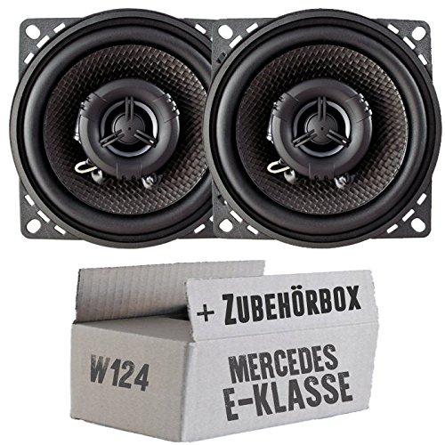 Ampire CP100-10cm Lautsprecher 2-Wege Koaxialsystem - Einbauset für Mercedes W124 T- JUST Sound Best Choice for caraudio