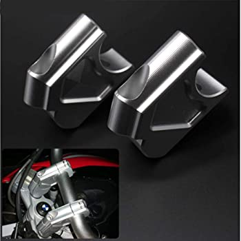 OUYAWEI 1-1//828mm Manubrio Riser Up Back Move Staffa per KTM 1050 1090 1190 1290 ADV//GT nero