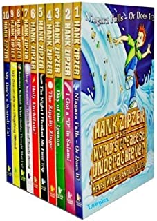 Hank Zipzer Collection 10 Books Set Pack Henry Winkler and Lin Oliver