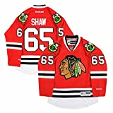Reebok NHL Eishockey Trikot Jersey Premier Chicago Blackhawks Andrew Shaw #65 rot (XXL)