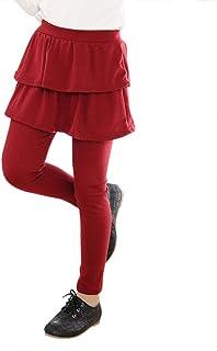 cac92ce7851 DianShaoA Elástico Leggings Leggins Pantalones De Niñas Falda Guapa De  Ballet