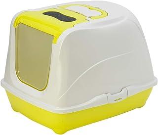 Moderna Flip Cat Large - Closed Litter Box, w.Odor Filter, 50 x 39 x H37 cm, Lemon Color
