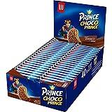 Choco Prince de LU - Biscuits Enrobés de Chocolat au Lait et Fourrés Goût Chocolat - Au Blé Complet - Pack de 40 Paquets (28,5 g)