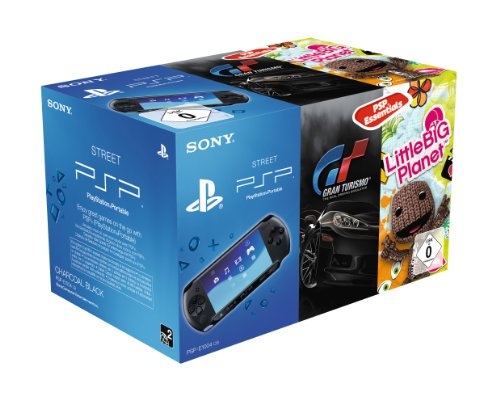 Sony PSP E1000 inklusive Gran Turismo Essentials + Little Big Planet Essentials