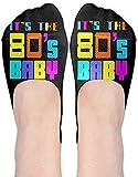 remmber me Divertente È il 80S Baby Women Performance Comfort Fit senza calzini.