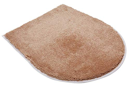 Spirella Uni Karamell Beige WC Bezug/Deckelbezug 47x50 cm.