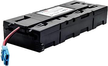 UPSBatteryCenter SMX1500RM2U, SMX1500RM2UNC - APC RBC115 Compatible Battery Pack Replacement