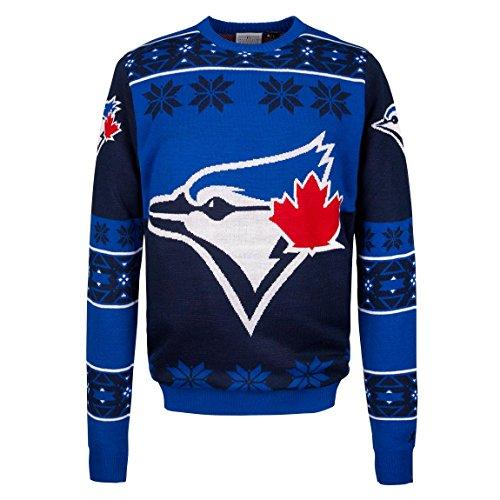 MLB Toronto Blue Jays Big Logo Sweater, Blue, Large