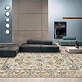 Home Alfombras Infantiles Alfombras Pasillo Modernas La decoración de la sala de estar de la alfombra de impresión de color retro no se puede usar el color de la sala de estar durante muchos años 200x
