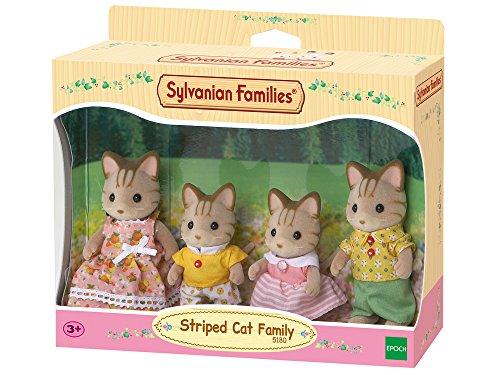 Sylvanian Families - 5180 - Tigerkatzen: Familie Fauch-Fauch