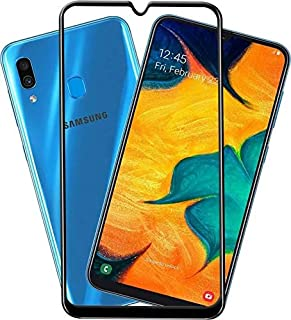 E-world Samsung Galaxy A50 5D Full Glue Cover خفف زجاج الشاشة