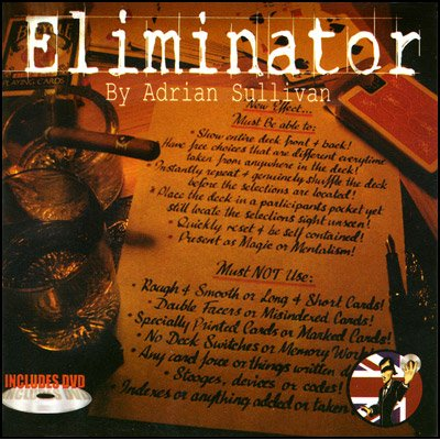Eliminator V2.0 (With DVD) by Adrian Sullivan - Tricks