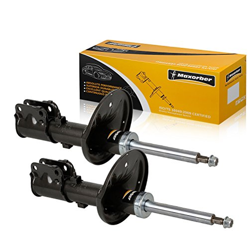 Maxorber Front Pair Shocks Struts Absorber Compatible with Mitsubishi 3000GT 1991-1999 Shock Set Replacement for Dodge Stealth 91-96 Shock Absorber 335013 72172