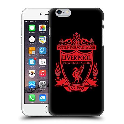 Head Case Designs Offizielle Liverpool Football Club Schwarz 2 Crest 1 Harte Rueckseiten Handyhülle Hülle Huelle kompatibel mit Apple iPhone 6 Plus/iPhone 6s Plus