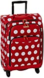 American Tourister Disney Softside Luggage with Spinner Wheels, Minnie Mouse Polka Dot, Carry-On 21-Inch