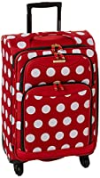 American Touriser Minnie Mouse Polka Dot carry-on on Amazon