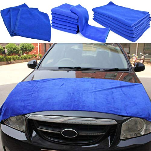 Paño de microfibra grande trapos de limpieza súper absorbente toalla de lavado de coches limpieza de coches paño de secado de detalles de coche toalla suave