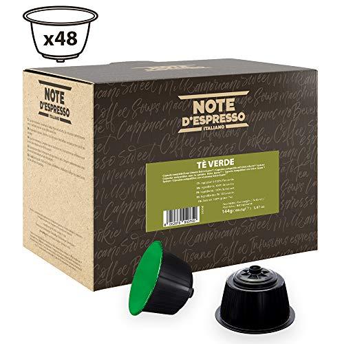 Note DEspresso Capsulas de Te Verde - 48 x 3 g, Total: 144 g
