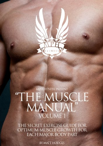 The Muscle Manual: Volume 1 - The Secret Exercise Guide For Optimum Muscle Growth For Each Major Body Part (English Edition)