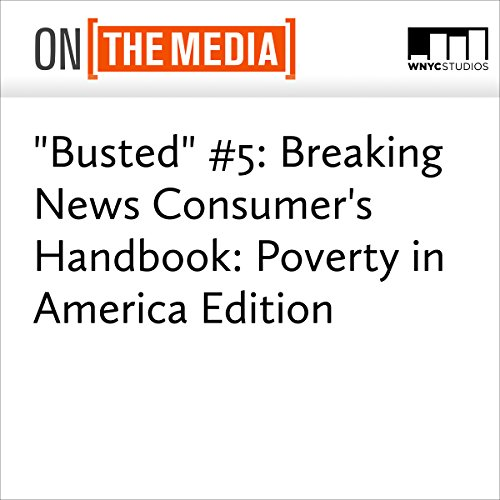 """Busted"" #5: Breaking News Consumer's Handbook: Poverty in America Edition audiobook cover art"