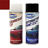 ExpressPaint Aerosol - Automotive Touch-up Paint for Toyota Camry - Barcelona Red Mica Metallic Clearcoat 3R3 - Color + Clearcoat Package