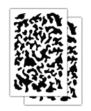 Acid Tactical Small Multicam Painting Camouflage Camo Stencils 14' for Gun, Model, RC Cars