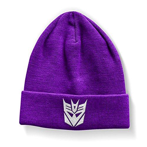 Transformers Decepticon Official Beanie (Purple)