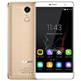bluboo maya max smartphone 4g android 6.0 (mtk6750 octa-core da 1.5ghz 3 gb + 32 gb, 6''hd ogs jdi 1280 * 720pixels, dual cameras 13mp + 5mp, 4200mah batteria, fingerprint type-c hotspot)