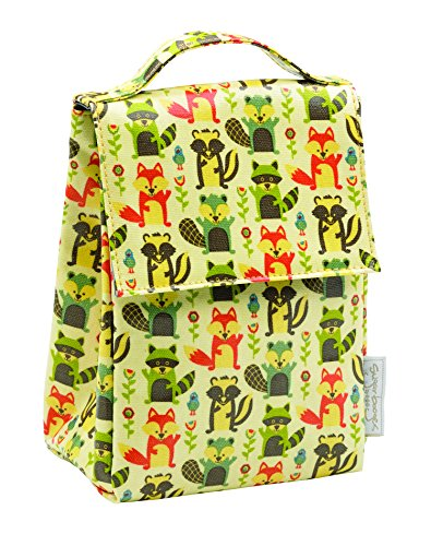 SUGARBOOGER Classic Lunch Sack, What Did The Fox Eat, 1 EA