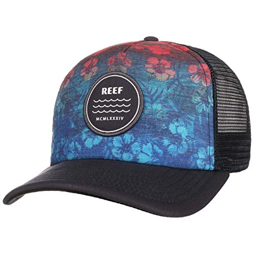 Reef Gorra Trucker Aztec de beisbol baseball (talla única - azul)