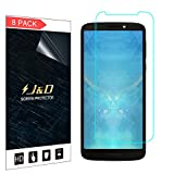 J&D Compatible pour 8-Pack Protection écran Moto G6 Play, [Non Couverture Complète] Protecteur...
