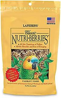 Lafeber Classic Nutriberries Cockatiel Food - Original - 10 oz (2 pk)