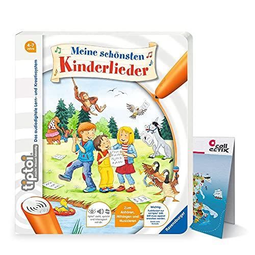 Ravensburger tiptoi ® Buch   Meine schönsten Kinderlieder + Kinder Weltkarte - Länder, Tiere, Kontinente