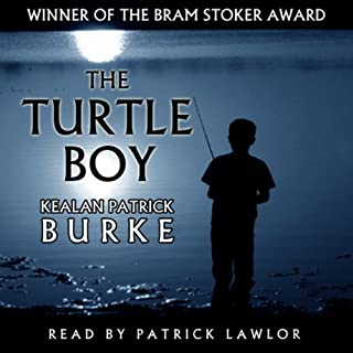 Turtle Boy audiobook cover art