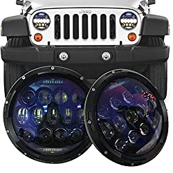 SUP-LIGHT 7 Inch 130W Led Headlights