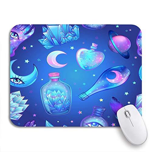 Gaming mouse pad glasflaschen zaubertränke röhren und flaschen mit dem titel magical rutschfeste gummiunterlage computer mousepad für notebooks mausmatten
