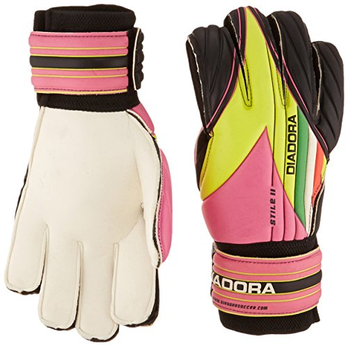 Diadora Soccer 861013-8718 Stile II Junior Goal Keeper Gloves, 8