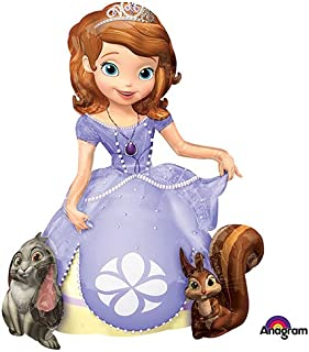 Anagram 28317 Sofia The First Airwalkers Foil Balloon, 48