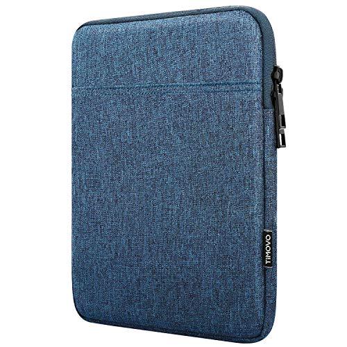 TiMOVO 9-11 Zoll Hülle Kompatibel mit 2020 iPad Air 4 10.9, iPad Pro 11 2018-2021 iPad 10.2, Galaxy Tab A7 10.4 2020, S6 Lite 2020, Surface Go 2/1 Schutzhülle Geeignet Smart Keyboard, Blau