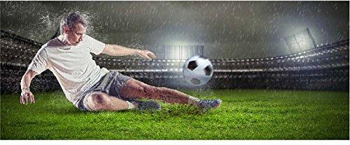 SATDL0747 - Sticker Autocollant Tête de Lit Footballeur (200x80cm)