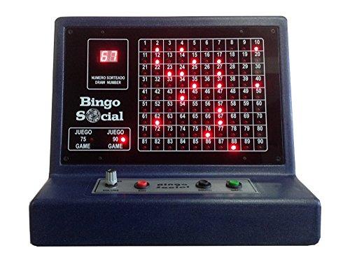 BINGO SOCIAL Bingo electrónico con Sonido