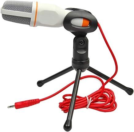 NanYin Nuovo Microfono da Studio Professionale con Microfono per Podcast per PC con Microfono Skype per MSN (Color : White Without Cover) - Trova i prezzi più bassi