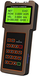 CGOLDENWALL TUF-2000H Hand-held Portable Strengthened Ultrasonic Flow Meter Flowmeter Outside Clip Type -40-90 (DN:50-700mm)