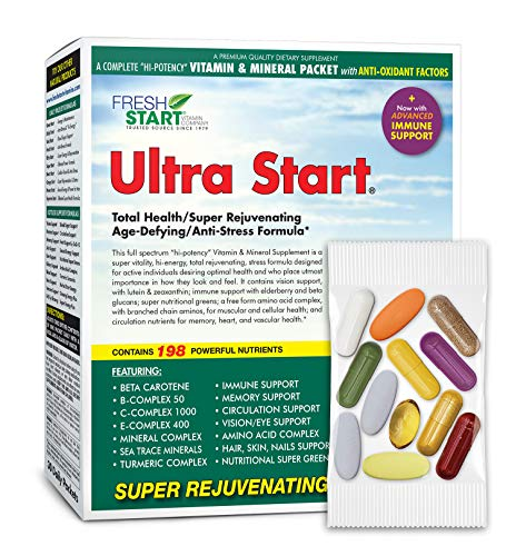 small Ultra Start-Complete Daily Vitamin Package-Anti-Aging, Anti-Stress, Energy, Immunity-…